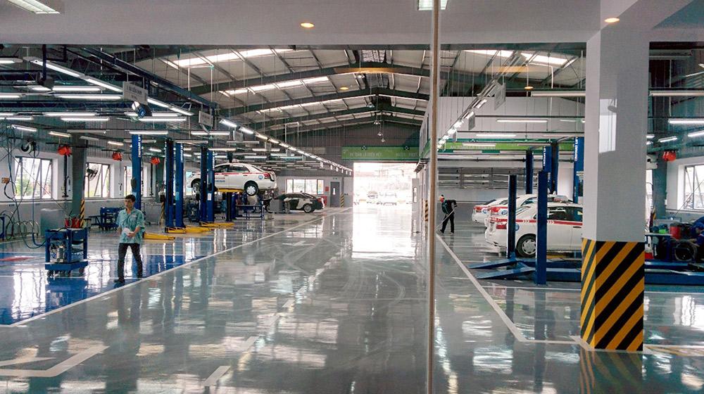 Xưởng sửa chữa và đại tu ô tô trên toàn quốc