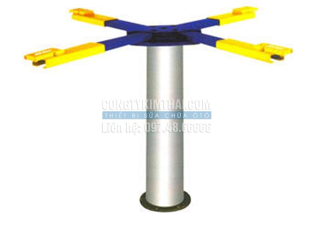 Cầu nâng 1 trụ thiết bị nâng ô tô 1 trụ thủy lực K102X