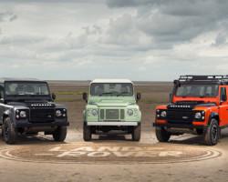 Chiếc Land Rover Defender phiên bản đặc biệt cuối cùng
