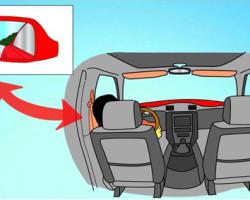 Chỉnh gương ô tô để chính điểm mù