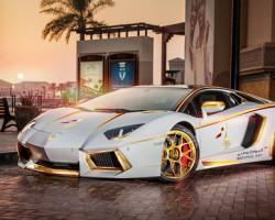 Lamborghini Aventador phiên bản đặc biệt dành cho Trung Đông hình 2