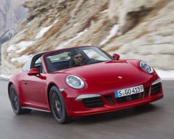 Porsche 911 Targa 4 GTS Hình ảnh và giới thiệu