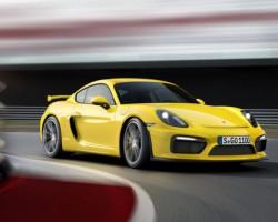Porsche ra mắt Cayman GT4 xe thể thao mới